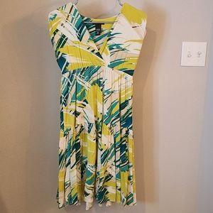 New York and Company Jersey Knit Stretch Dress